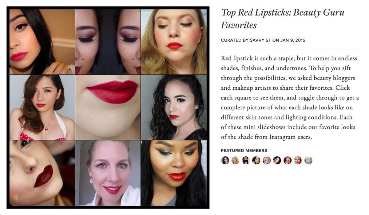 Top Red Lipsticks of Beauty Gurus