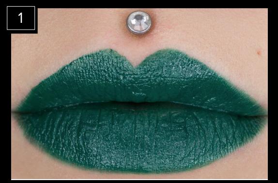 Green Lipstick
